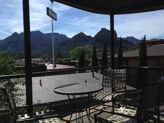 Star Motel: Eat out on your patio with a terrific view