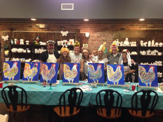 Private canvas painting parties super fun picture of for Private paint party