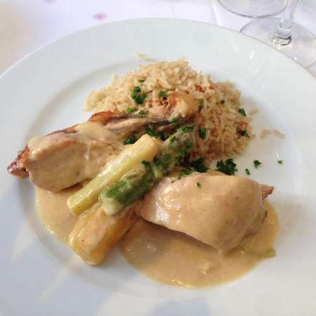 Lovely braised chicken with batsmani rice picture of la - La cuisine cooking classes ...