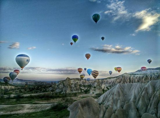 Capadoccia Hot Air Balloon - Picture of HTR Private Tours ...