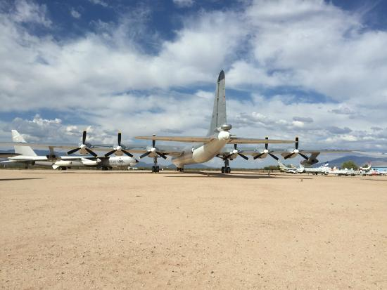Cool Plane Propellers : Cool prop plane in the outdoor exhibit picture of pima