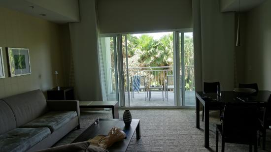 Provident Doral at The Blue Miami: View of room from kitchen