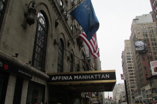 Outside The Hotel Picture Of Manhattan NYC An Affinia Hotel New York City