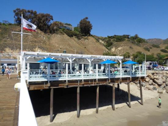 The Menu Picture Of Malibu Pier Restaurant And Bar Malibu TripAdvisor