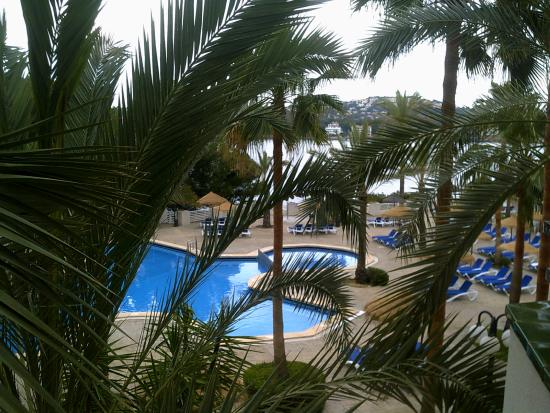 Lovely view from our room picture of trh jardin del mar for Aparthotel jardin del mar santa ponsa
