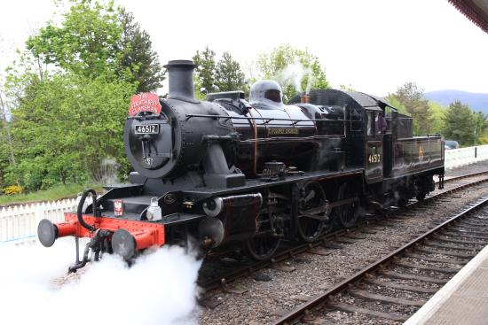 Aviemore, UK: Our locomotive