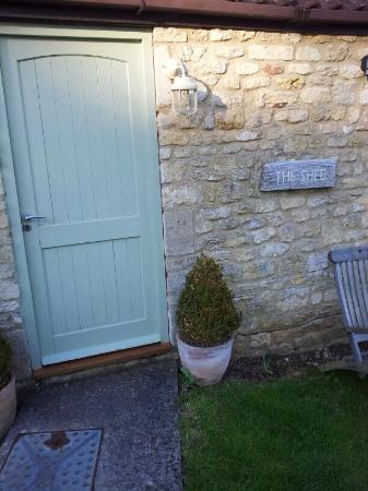 Combe Hay, UK: We stayed in 'The Shed'!