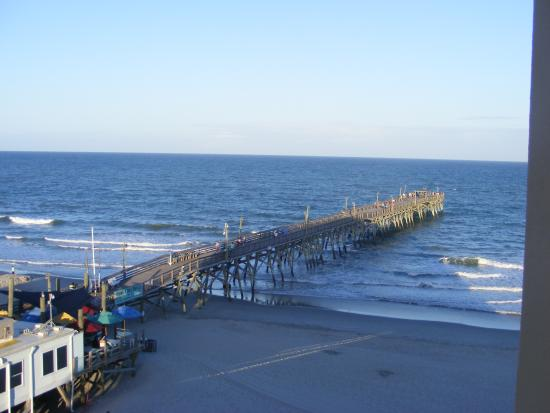View of surfside beach fishing pier picture of surfside for Surfside fishing report