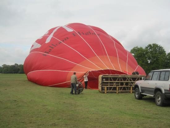 Virgin Balloon Flights - Coventry, Coombe Country Park