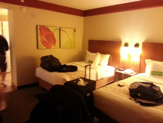 Standard Room With 2 Double Beds Picture Of La Quinta Inn Suites New Orleans Downtown New