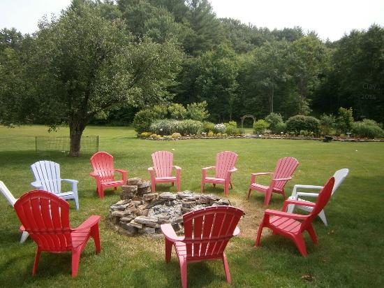 Outdoor Grounds, Summer 2014 at the Stone Hearth Inn & Tavern, Chester VT