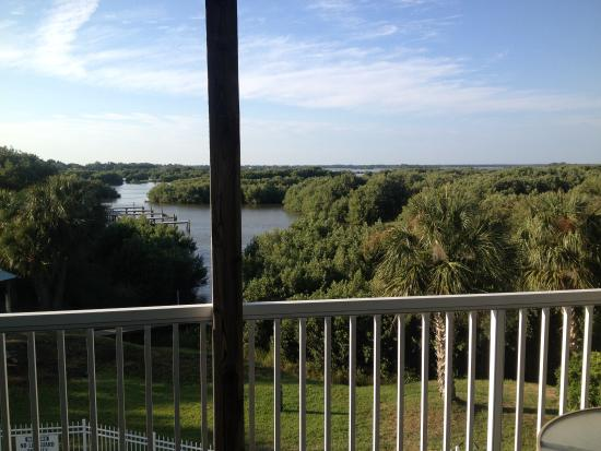 Natures Landing Condominium: view from the balcony, beaufiful!