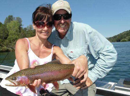 Sac river guide redding ca hours address fishing for Fishing trips in california