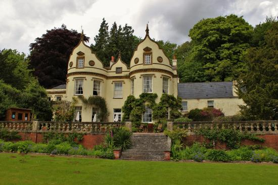 Langford Budville, UK: Looking at Amchara from the garden.