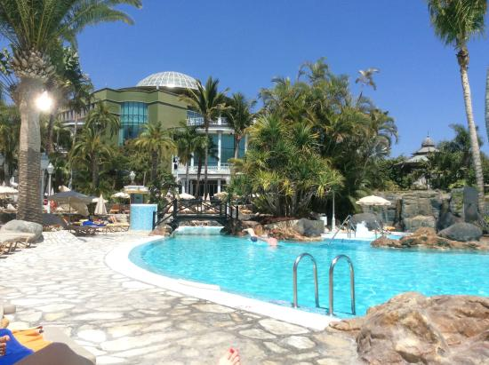 A portion of the pool about 1 3 of it picture of for Adrian hoteles jardin de nivaria tenerife