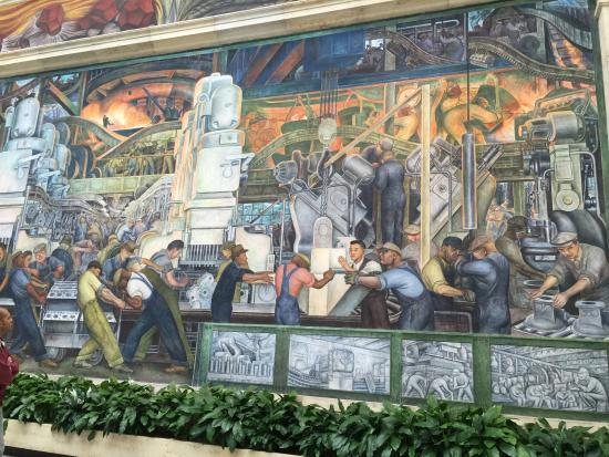 Diego rivera mural for Diego rivera mural chicago