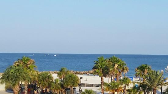 Magnuson Hotel Clearwater Beach: View from the room