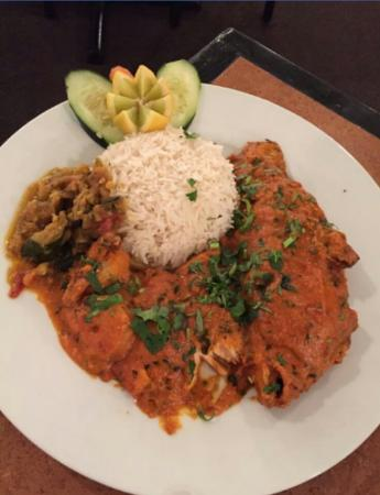 Perfect meal for Aman indian cuisine