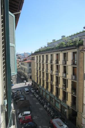 Black 5 Florence: View from room