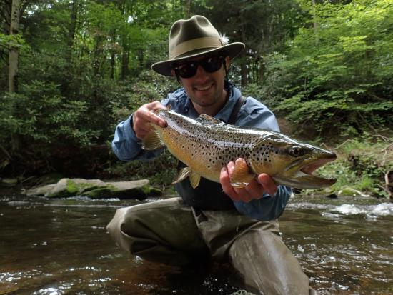 Things to do near wood winery in madison pennsylvania for Fly fishing pa