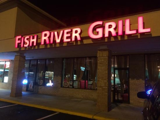 Fish river grill 3 picture of fish river grill 3 gulf for Fish river grill gulf shores