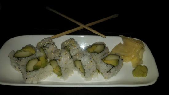 Cucumber and avocado roll - Picture of FUGU'S Sushi & Wok, La Jolla ...