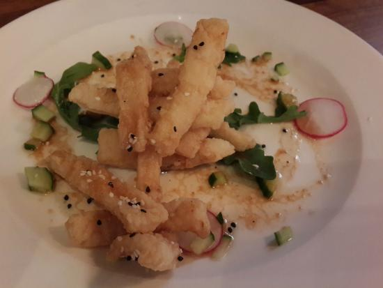 Crispy Calamari Salad - Picture of Cafe du Soleil ...
