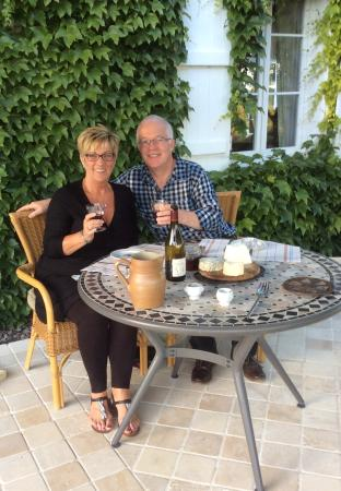 Le Lindois, France: Dinner at the Auberge