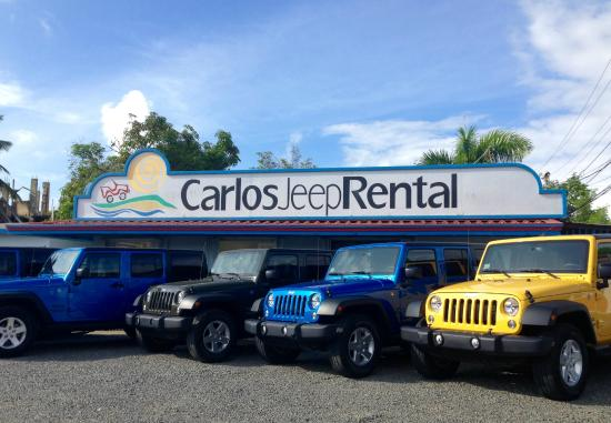 Carlos Jeep Rental - Day Rentals