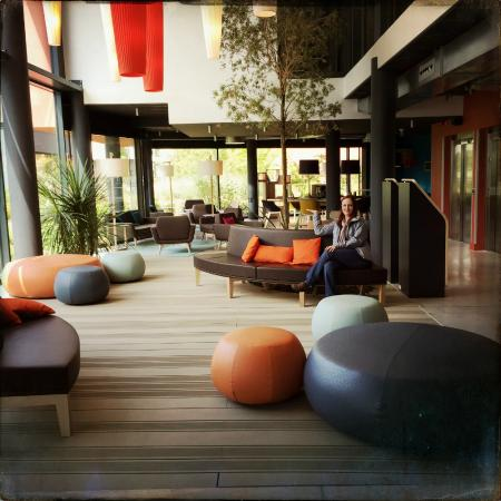 Lobby and lounge picture of nomad paris roissy cdg le - Nomad s paris ...