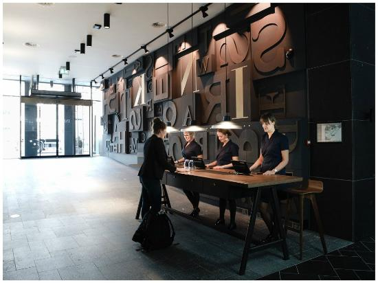 Lobby Picture Of Ink Hotel Amsterdam Mgallery