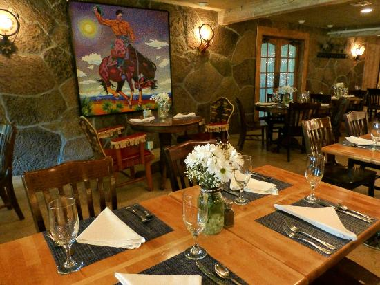 Fine Dining In The Silver Saddle Restaurant Picture Of