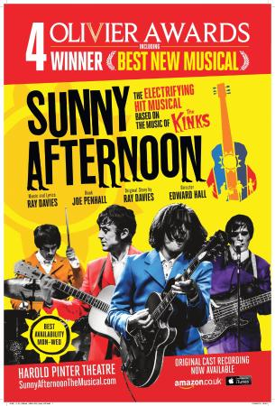 kinks musical sunny afternoon cd review