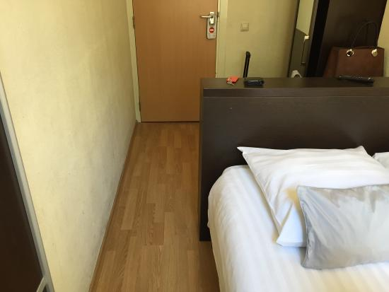 Aalborg Hotel Amsterdam: laughable double room