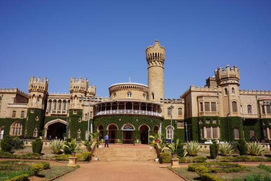 The Gardens In Front Of The Palace Is Beautiful Picture Of Bangalore Palace Bengaluru