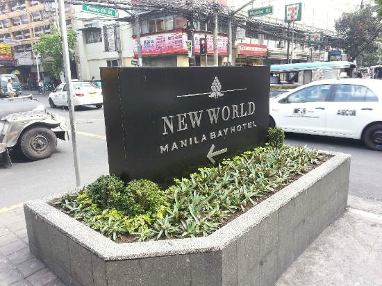 New World Manila Bay Hotel: 外観