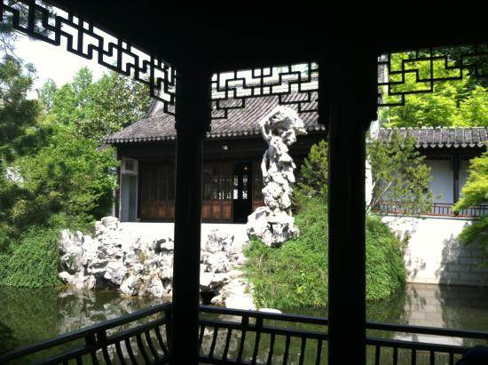 Inside Chinese Garden Picture Of Snug Harbor Cultural