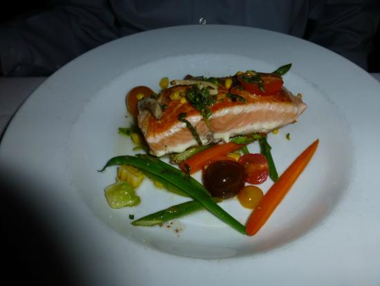 Scottish salmon picture of wildfish seafood grille for Wild fish seafood grill