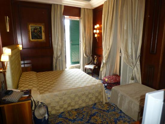 Photo of our triple corner room it 39 s bigger than it for Boutique hotel trevi