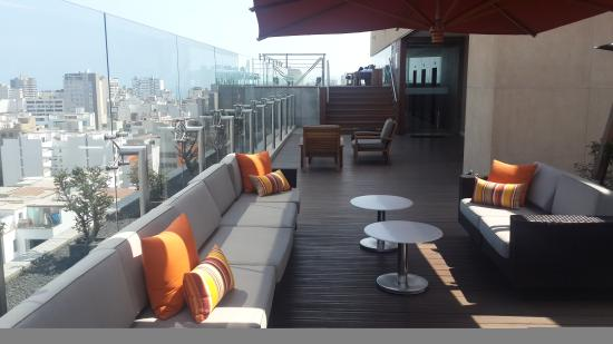 Hilton Lima Miraflores 11th Floor Roof Top Patio