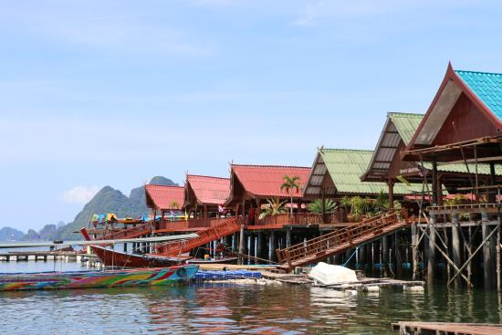 great views - Picture of Koh Panyi (Floating Muslim Village), Krabi Town - Tr...