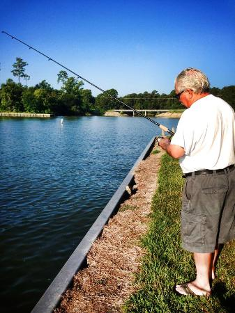 Great time fishing picture of wolf creek park for Lake livingston fishing report