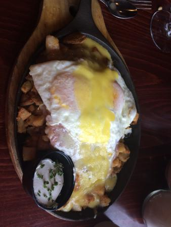 Corned beef potato egg skillet - Picture of the breakfast club etc ...