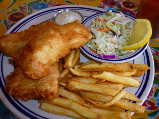 Fish And Chips At The Crazy Norweigian 39 S Picture Of The