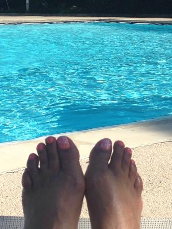 DoubleTree Suites by Hilton Tampa Bay: Poolside and on my walk to Bahama Breeze.