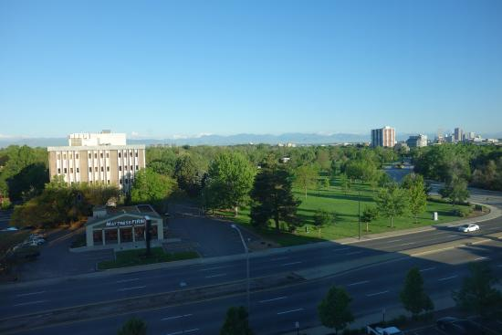 Mountain View From Hilton Garden Inn Picture Of Hilton Garden Inn Denver Cherry Creek Denver