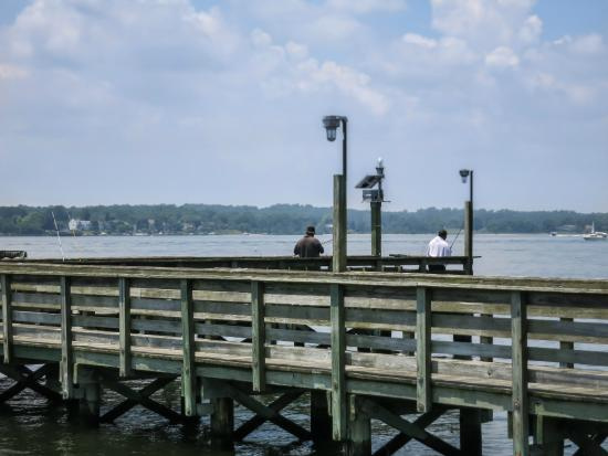 Lots of fishing spots picture of solomons boat ramp and for Maryland fishing piers