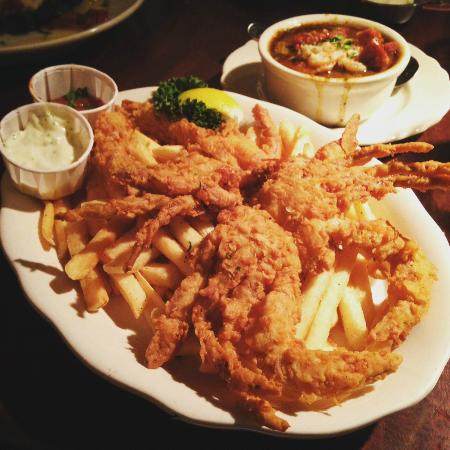 Soft Shell Crab Picture Of Pappadeaux Seafood Kitchen Albuquerque Tripadvisor