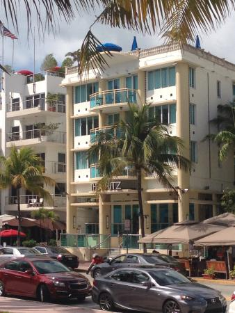 Dorchester Hotel  Collins Avenue Miami Beach Fl