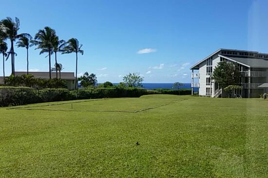 Cliffs at Princeville: View from kitchen in Bldg 4, first flr.